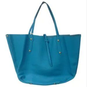 Annabel Ingall Small Isabella Turquoise Tote Bag